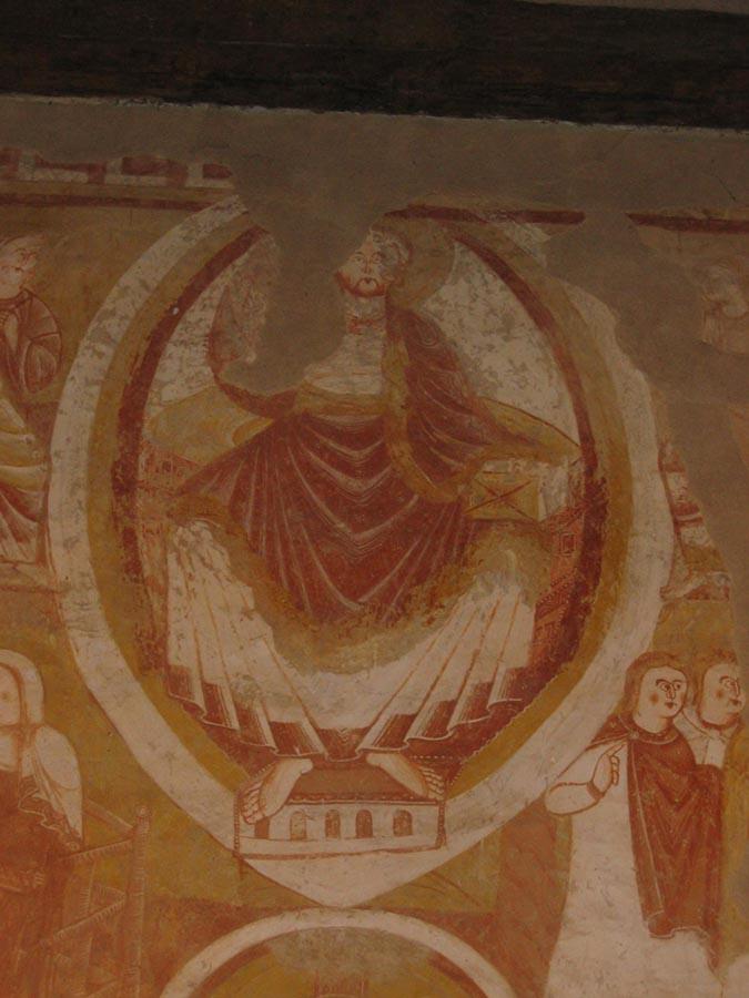 Les Fresques De L U0026 39  U00e9glise Saint Martin De Vic