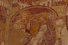 Le Lavement des pieds fresques eglise saint martin de Vic