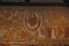 fresques église Saint Martin de Vic la nef