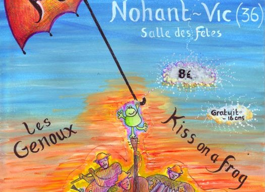 concert bal folk Nohant-Vic