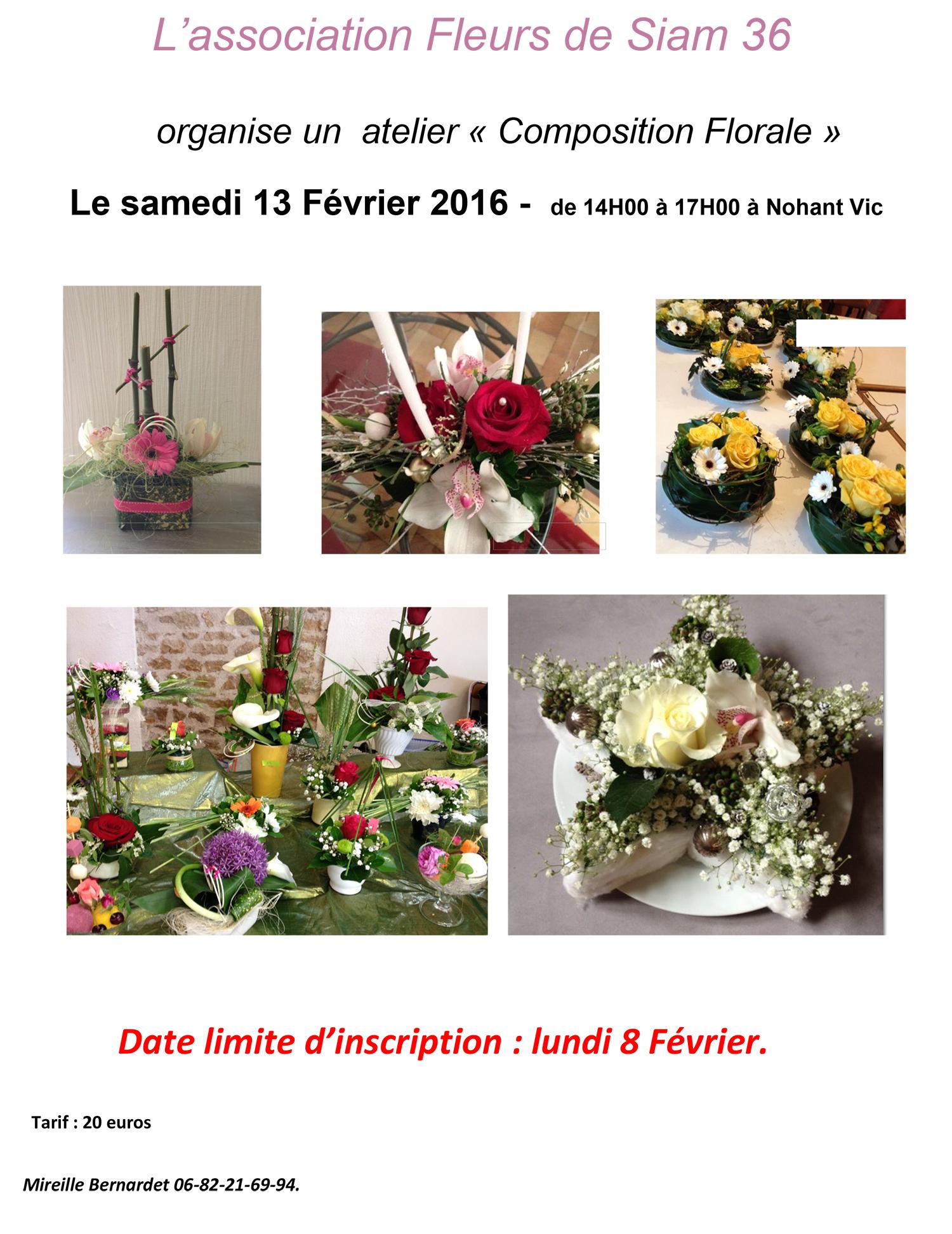 Fleurs de Siam 36 compostion florale13 Février