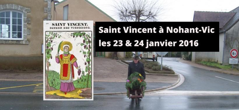Saint Vincent Nohant Vic