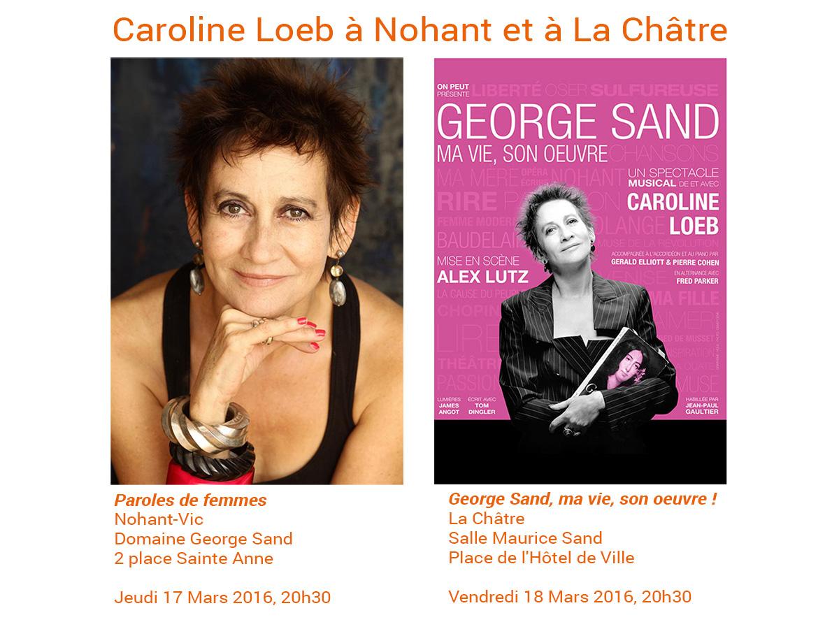 Caroline Loeb à Nohant
