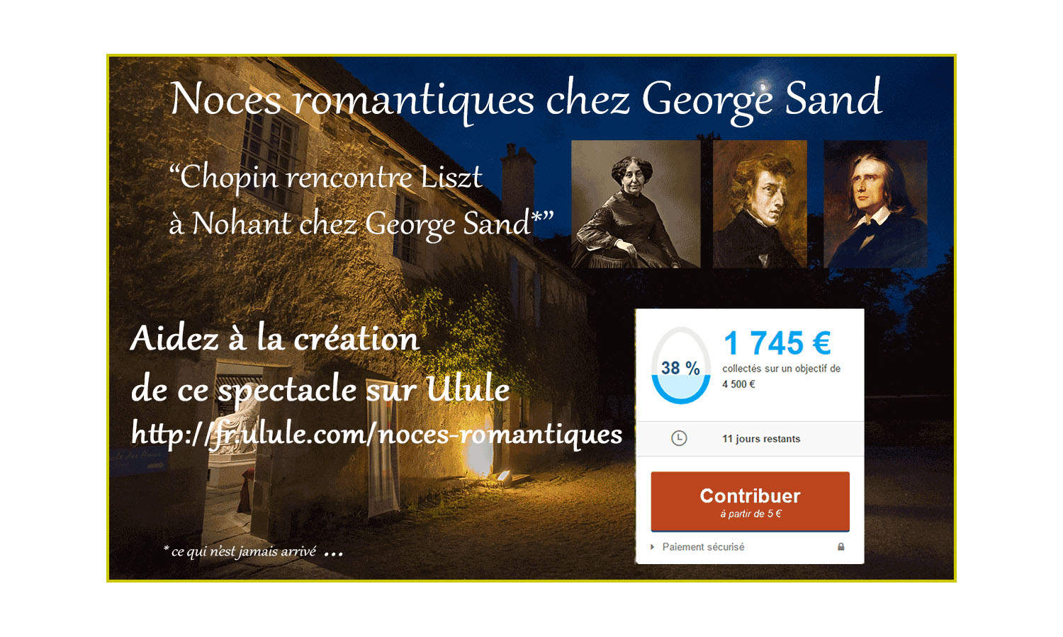 rencontre chopin georges sand