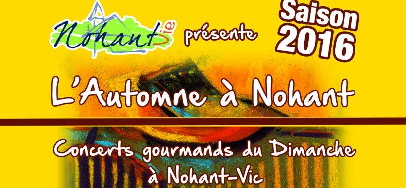 Concert Automne Nohant