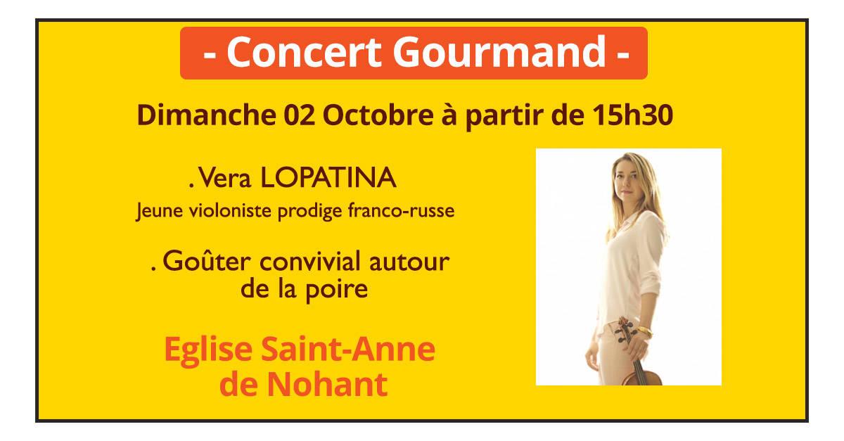 Vera-lopatina à Nohant