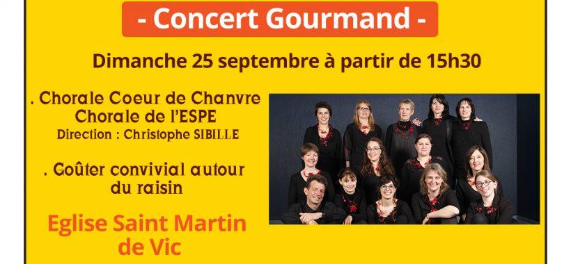 Concert Choeur de Chanvre à Vic