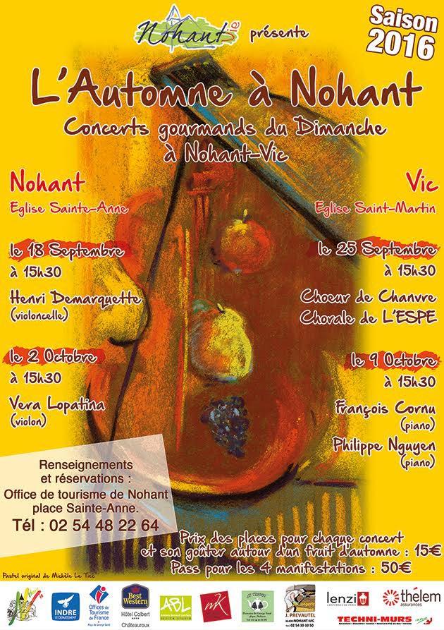 Affiche-Automne à Nohant