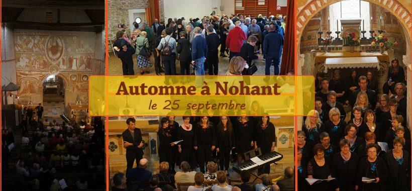 Automne à Nohant concert de chorales