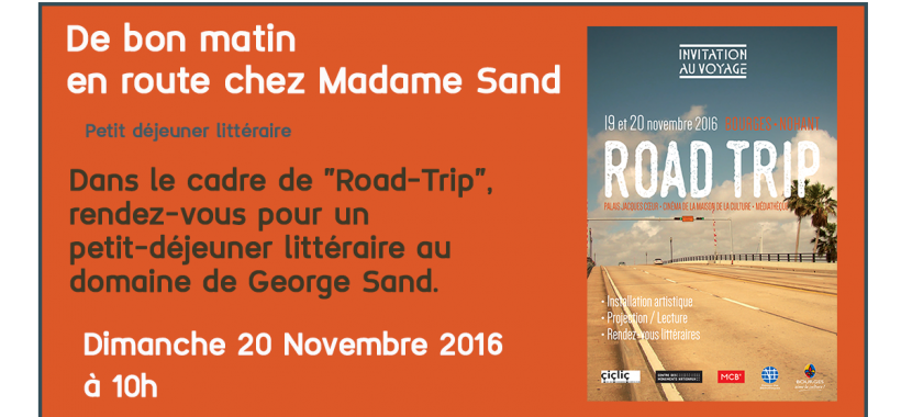 road trip à Nohant
