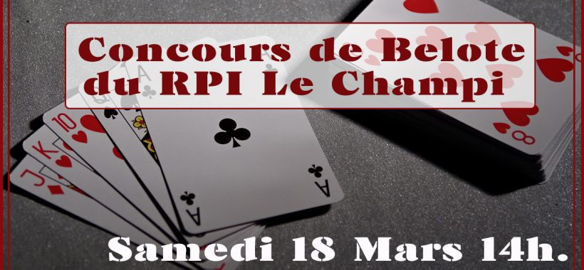 concours belote Nohant Vic