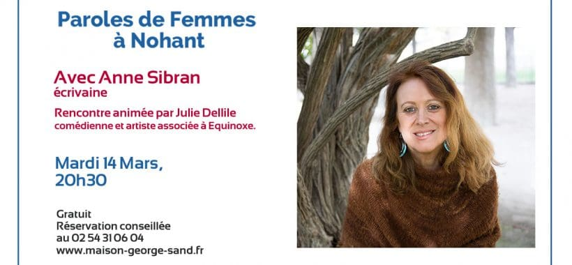 paroles de femmes nohant anne sibran