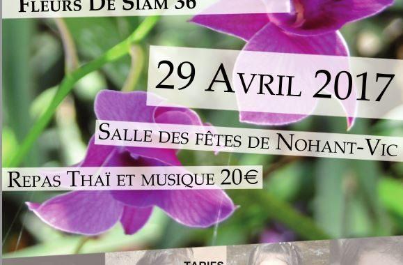 fleur siam Nohant Vic