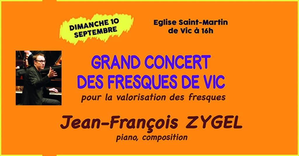 affiche concert Jean-François Zygel à Vic
