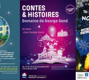 Marché exposition spectacle à Nohant