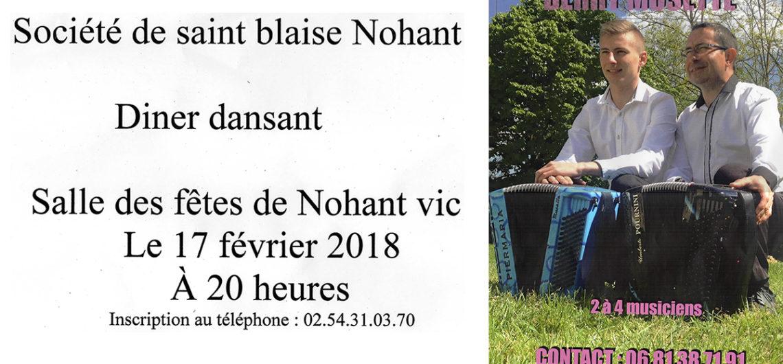 saint blaise 2018 Nohant-vic